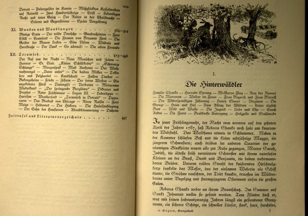 Leseprobe - - Das Grenzerbuch - Friedrich von Gagern