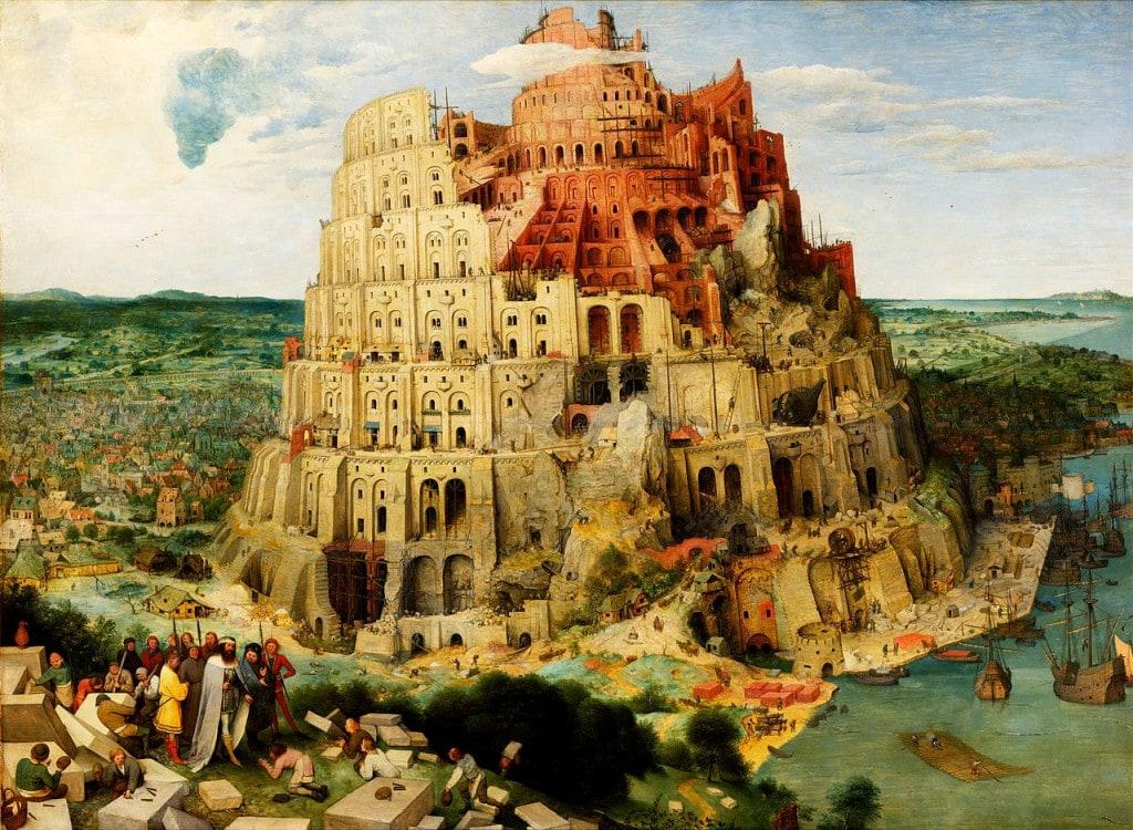 Der Turm zu Babel - Bruegel