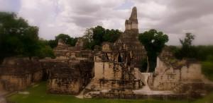 Tempel in Tikal