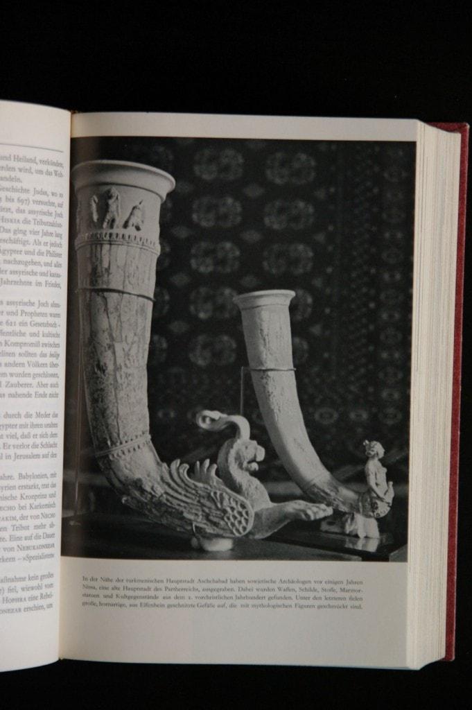 Parther, 2.Jhd v.C - Gefäße aus Elfenbein mit mythologischen Figuren
