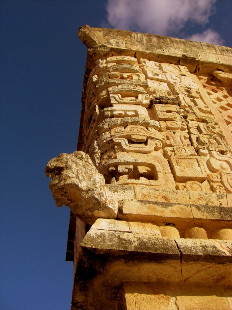 Tempel in Uxmal