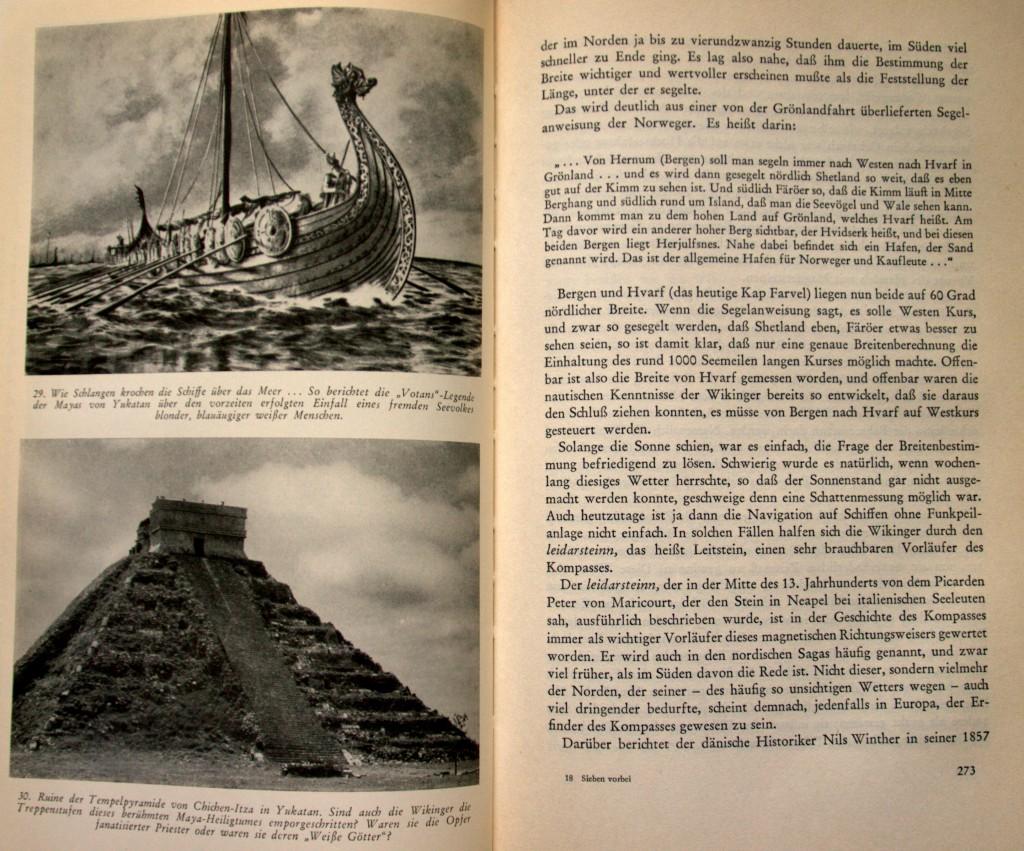 Wikinger besuchen die Maya