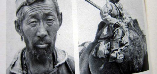 Die für die Kamele verantwortlichen Expeditionsteilnehmer - Filchners Reisebegleiter - Bismillah! - Wilhelm Filchner