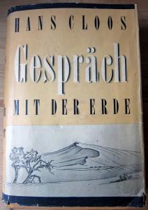 Gespräch mit der Erde - Hans Cloos - Ausgabe 1951