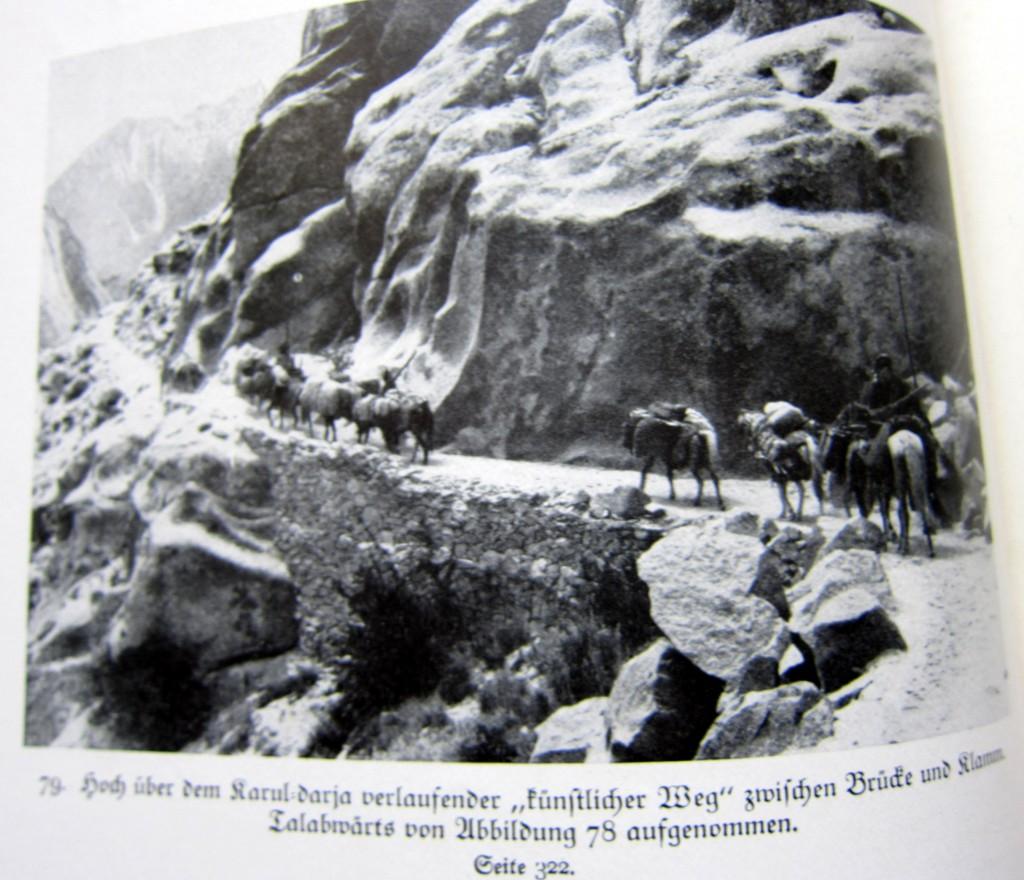 Die Karawane über dem Karul-Darja