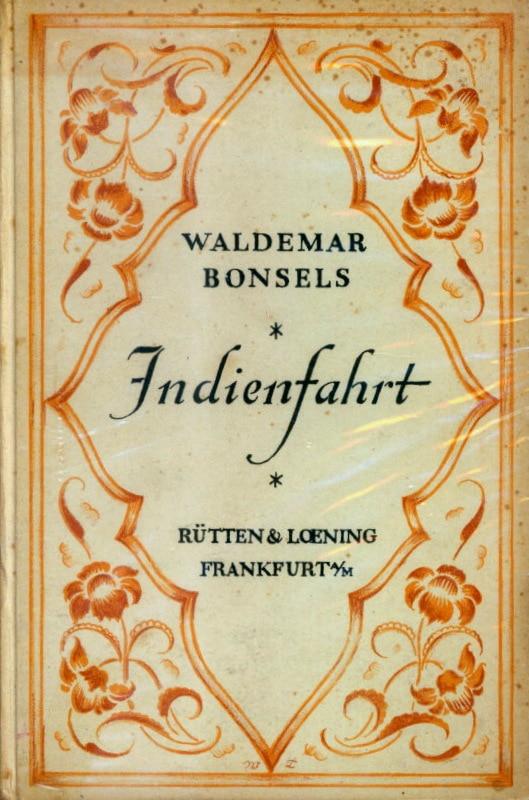 1-Waldemar Bonsels - Indienfahrt