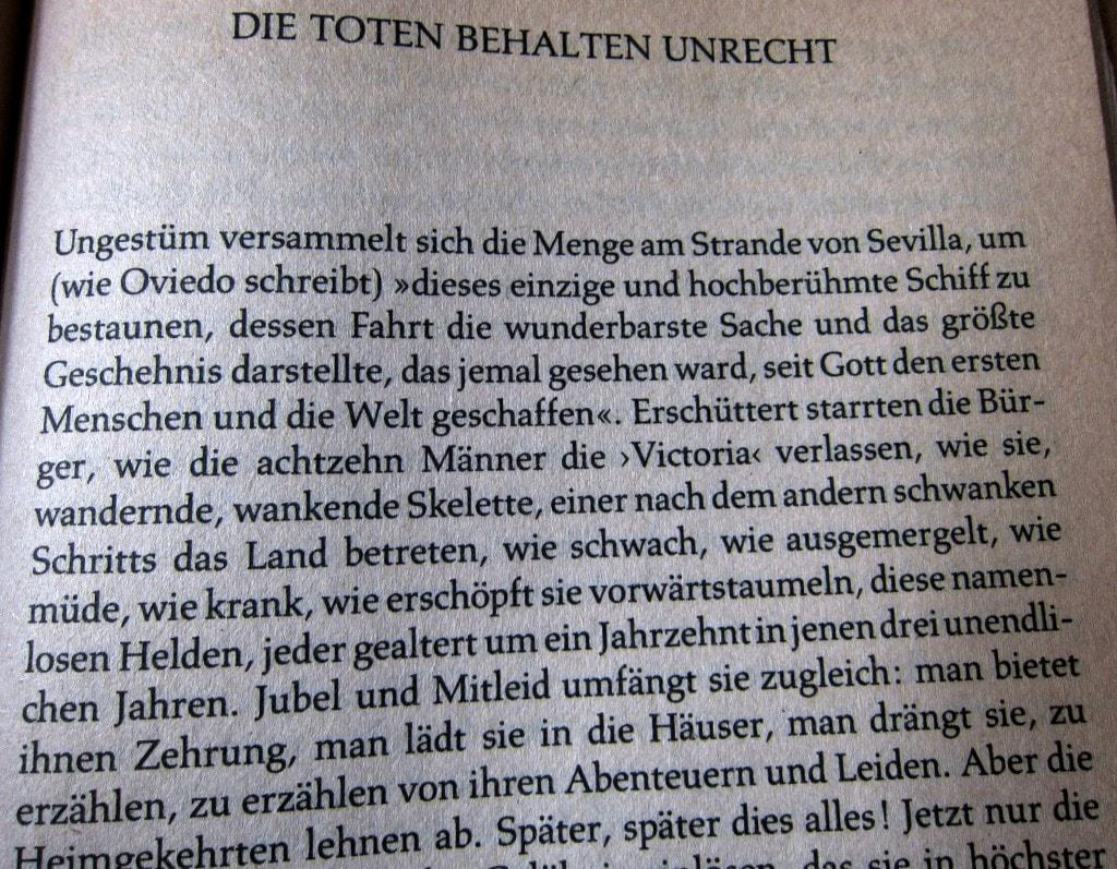 Stefan Zweig - Magellan - Die Toten behalten unrecht