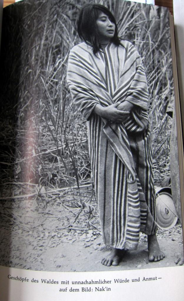 Geschöpfe des Waldes mit unnachahmlicher Würde und Anmut - auf dem Bild: Nak'in - Ins Land der Lacandonen - Herbert Rittlinger
