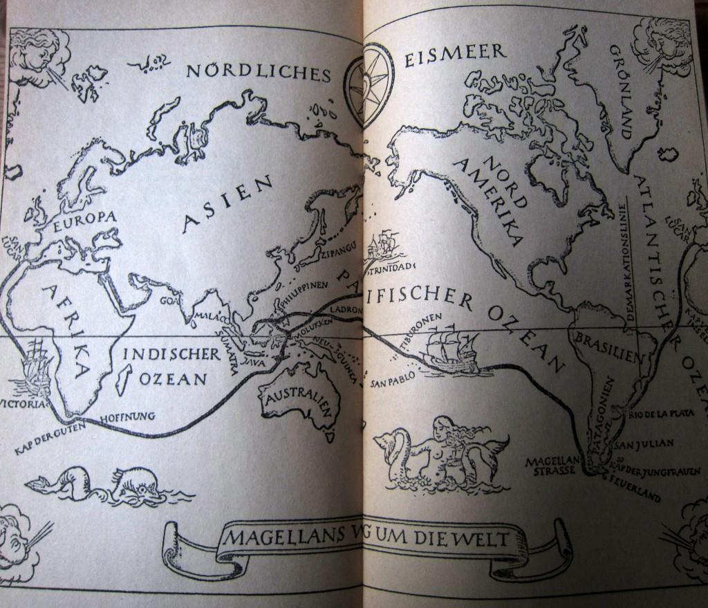 Stefan Zweig - Magellan - Weltumsegelung