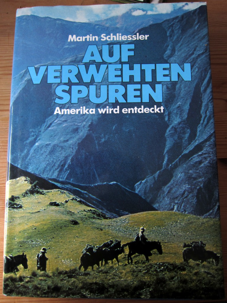 Auf verwehten Spuren - Martin Schliessler - Cover
