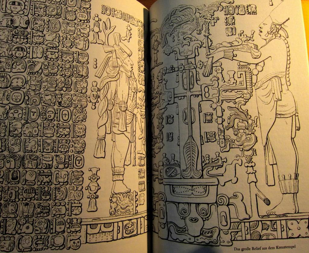 Inschriften in Palenque - Reisen in Zentralamerika - Stephens