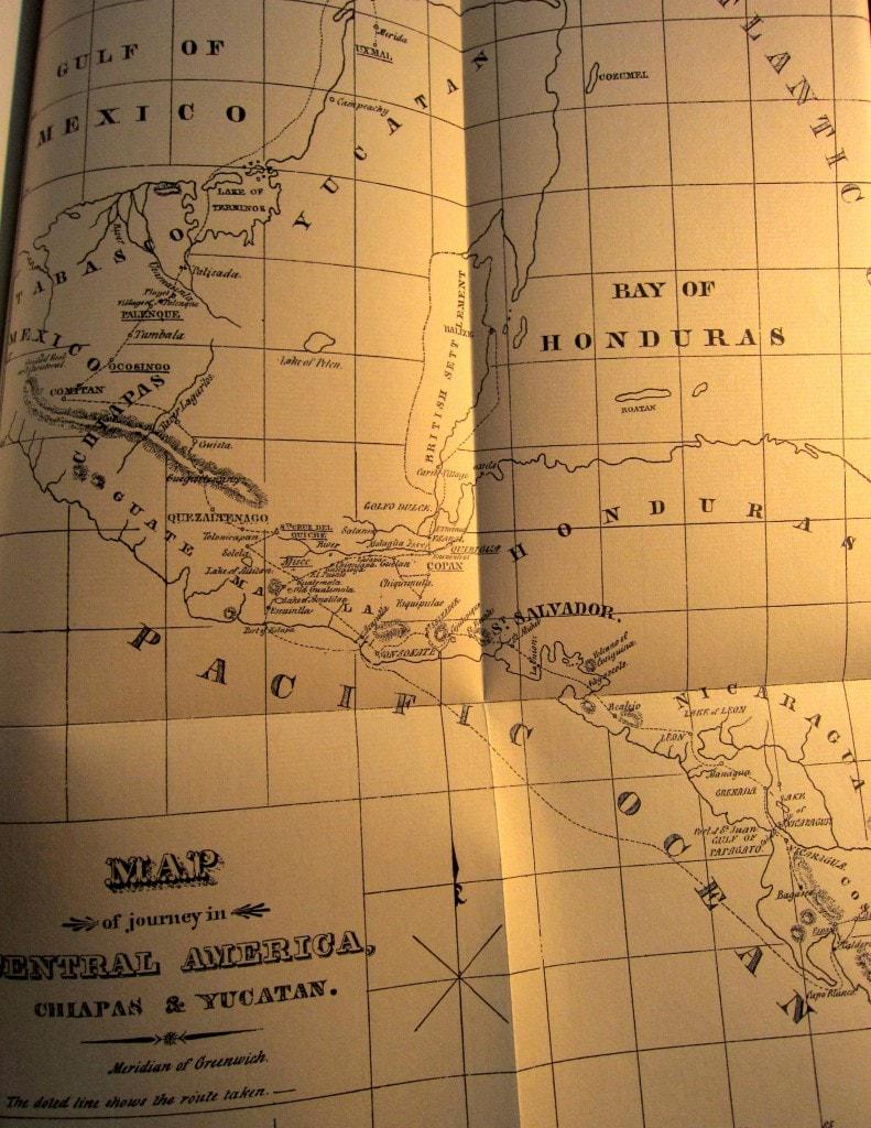 Reiseroute - Reisen in Zentralamerika - Stephens