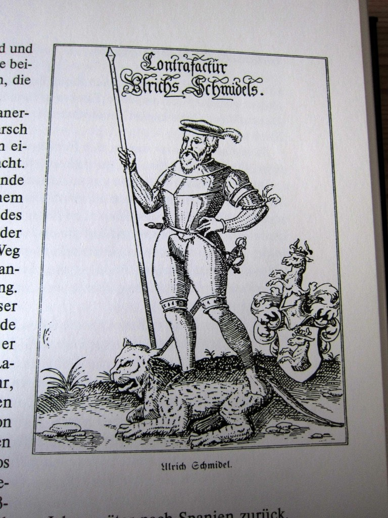 Ulrich Schmidel - Auf verwehten Spuren - Martin Schliessler