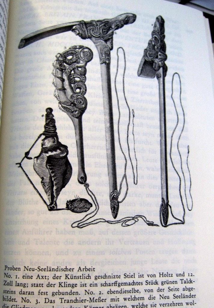 Reise um die Welt - Georg Forster - Weltumsegelung mit James Cook - 1777 - Werkzeuge