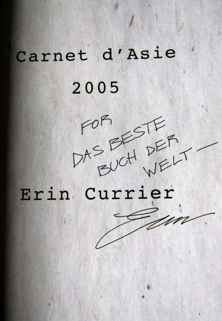Widmung - Erin Currier - Für das beste Buch der Welt
