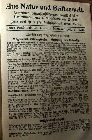 Geschichte des Welthandels - Werbung für andere Schriften