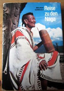 Titelbild des Buches - Reise zu den Naga - Milada Ganguli