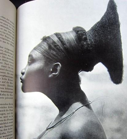 Kopfdeformation - Mangbetu - Afrika - Neue große Völkerkunde