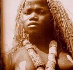 Mädchenweihe - Grasperücke - Kongo