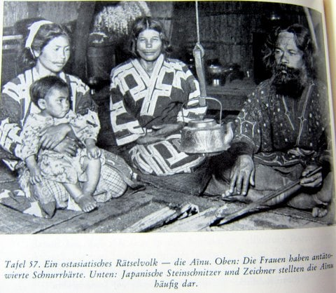 Ainu - Hokaido - Japan - Es begann in Babel - Herbert Wendt