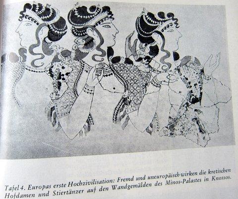 Hofdamen - Kreta - Es begann in Babel - Herbert Wendt