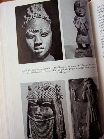 Kunstgegenstände aus Benin - Es begann in Babel - Herbert Wendt