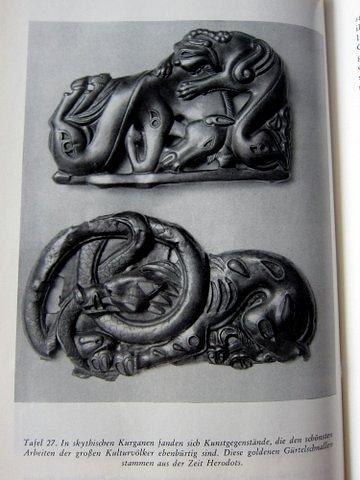 Skythischer Schmuck aus der Zeit Herodots - Es begann in Babel - Herbert Wendt