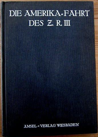 Buch - Die Amerika-Fahrt des Z.R.III