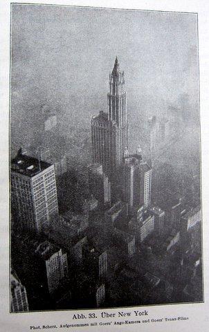 New York von oben - Die Amerika-Fahrt des Z.R.III