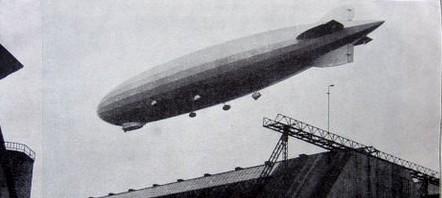 Zeppelin über der Werkshalle - Die Amerika-Fahrt des Z.R.III