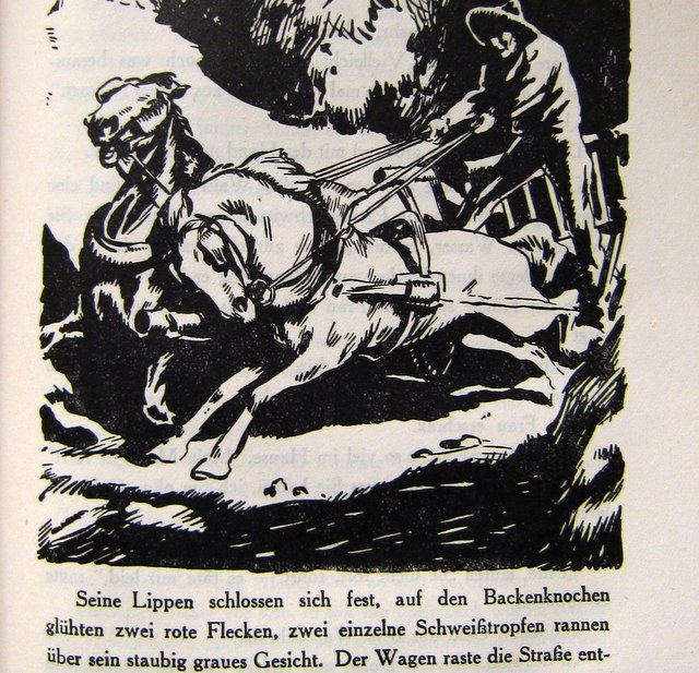 Kutsche - Wanderer ohne Ziel - Artur Heye - 1925