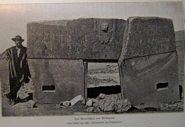 Monolithisches Tor - Francisco Pizarro und die Eroberung von Peru