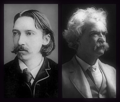 Robert Louis Stevenson und Mark Twain - eBooks gratis
