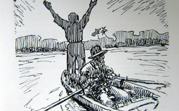 An Lagerfeuern deutscher Vagabunden in Südamerika – Franz Donat – 1927