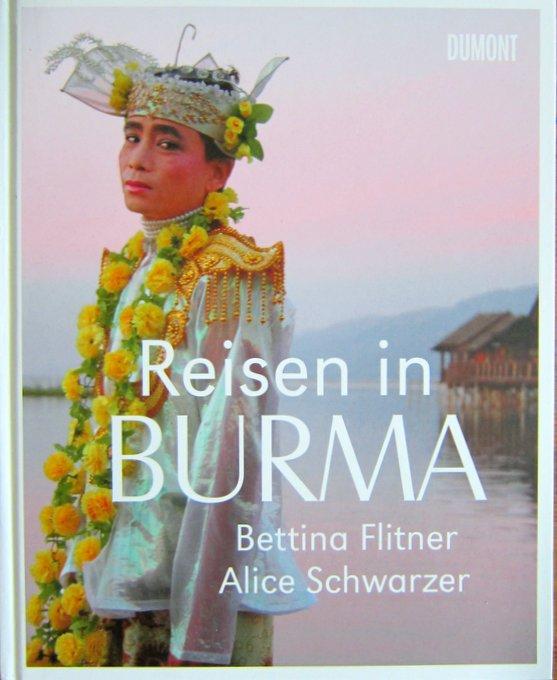 Reisen in Burma - Titelseite