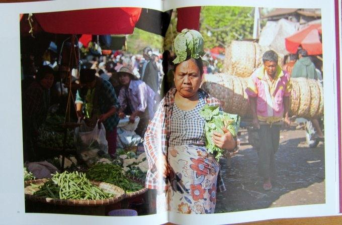 Marktfrau - Reisen in Burma