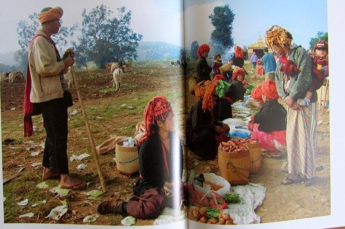 Marktszene am Inle-See - Reisen in Burma