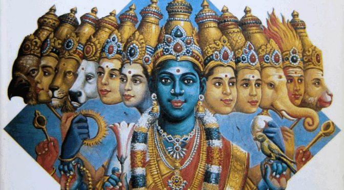 Die Bildsprache des Hinduismus – indische Götterwelt und Symbolik – DuMont Verlag – 1983