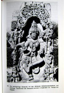 Sarasvati - tanzend - Tempel von Halebid