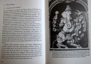 Ganeha mit seiner kleinen Shakti auf einer Ratte....Tempel von Madurai