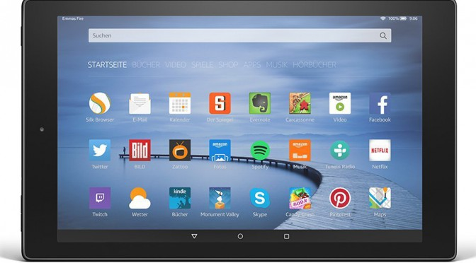 Fire HD 10 – das größte Fire Tablet – mit Alexa Hands-free