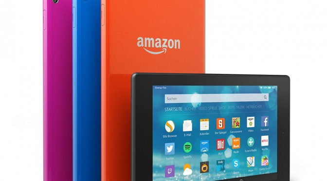 Fire HD 8 – das dünnste Fire Tablet