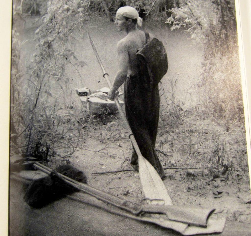 Rittlinger und sein Faltboot
