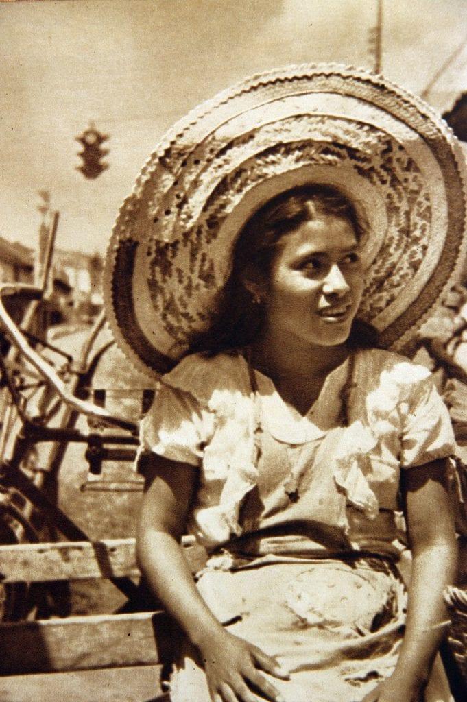 Junge Frau in Mexico
